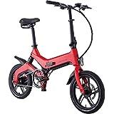 【新品割引、最低価】電動アシスト自転車 16インチ 折りたたみフレーム コンパクト 乗る転がす運ぶ 新しいカタチ 3モード切り替え 250w*6ah 男女兼用