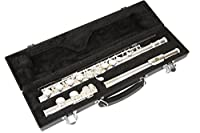 4215 Silver C Flute with Hardshell Case Cフルート/ハードケース LJ Hutchen社【並行輸入】