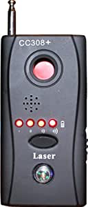信号の強弱をランプで表す!!高性能!盗聴器・隠しカメラ検知器 CC308+