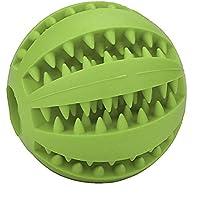 ペットボールby vibola耐久性非毒性ペットの歯のクリーニング犬Odontoprisisトイボールトレーニングのランダム色 L グリーン Vibola®25