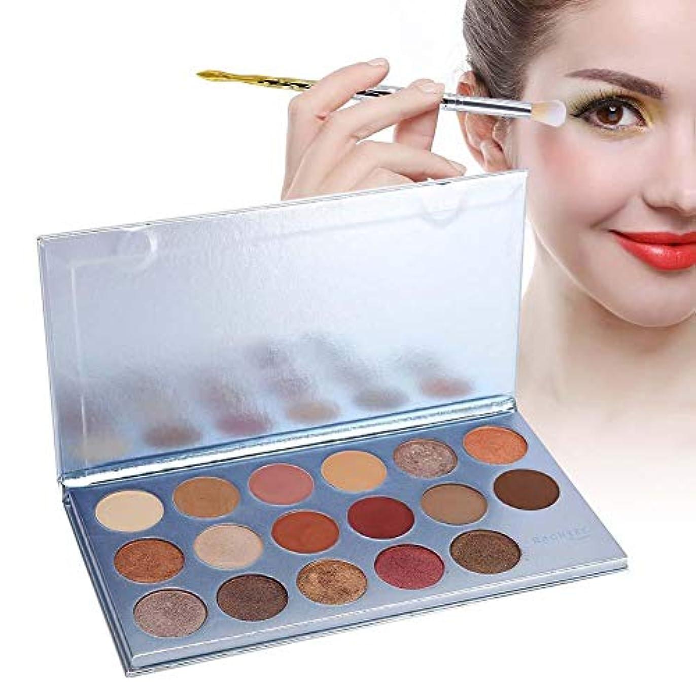17色 アイシャドウパレット アイシャドウパレット 化粧マット グロス アイシャドウパウダー 化粧品ツール