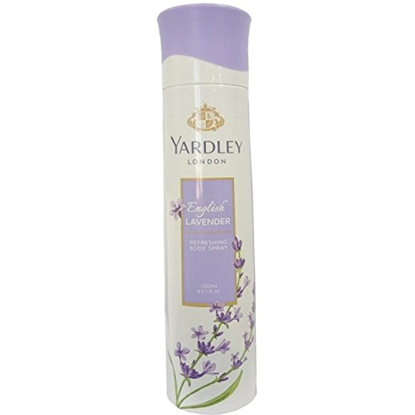 君主制おなかがすいた書士Yardley London Refreshing Body Spray English Lavender 150ml
