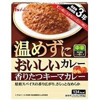 ハウス食品 温めずにおいしいカレー 香りたつキーマカレー180g×30(10×3)個入