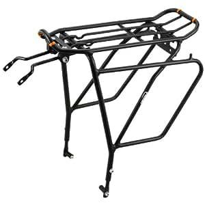 Ibera(イベラ)PakRak自転車用ツーリングキャリア プラス+IB-RA5(ディスクブレーキ取付具付属)フレーム搭載(バッグは含みません)