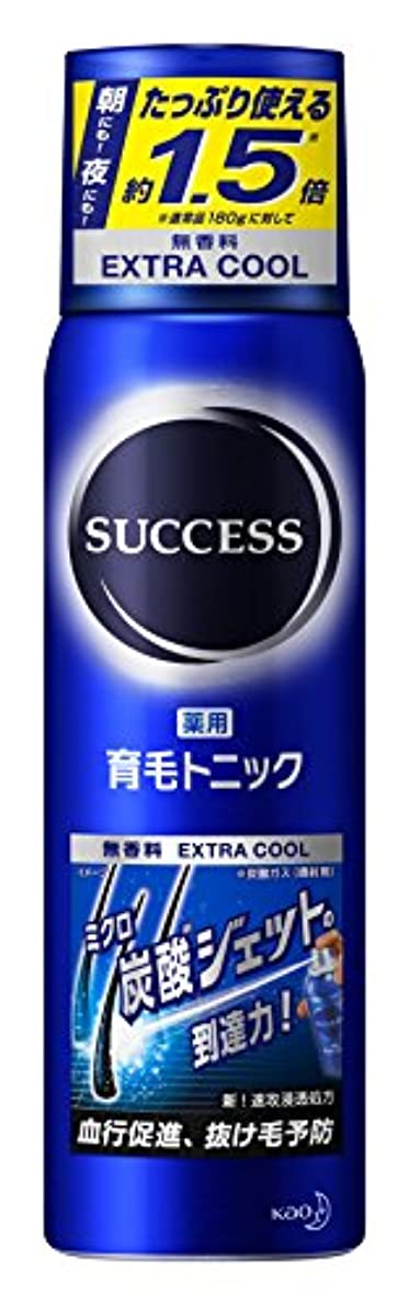 その適合しましたブロンズ【大容量】サクセス薬用育毛トニック エクストラクール 無香料 280g