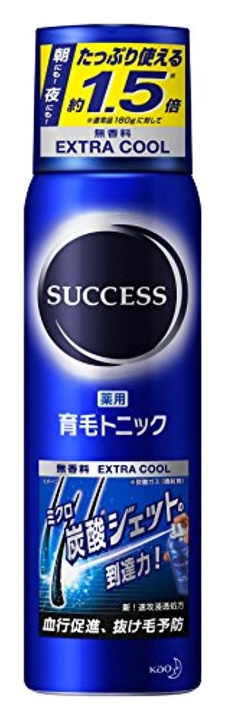 推進力生産的帰する【大容量】サクセス薬用育毛トニック エクストラクール 無香料 280g