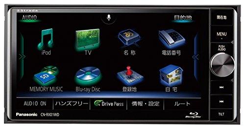 ストラーダ ブルーレイ内蔵 7V型200mmワイドモデル 美優ナビ CN-RX01WD