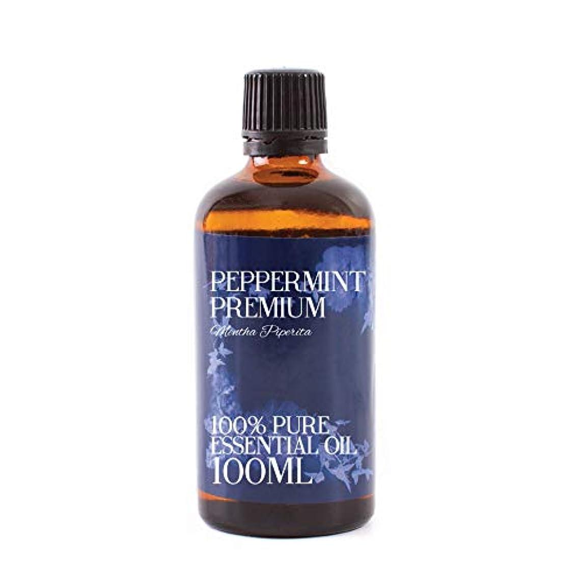 ジャンク斧口述するMystic Moments   Peppermint Premium Essential Oil - 100ml - 100% Pure
