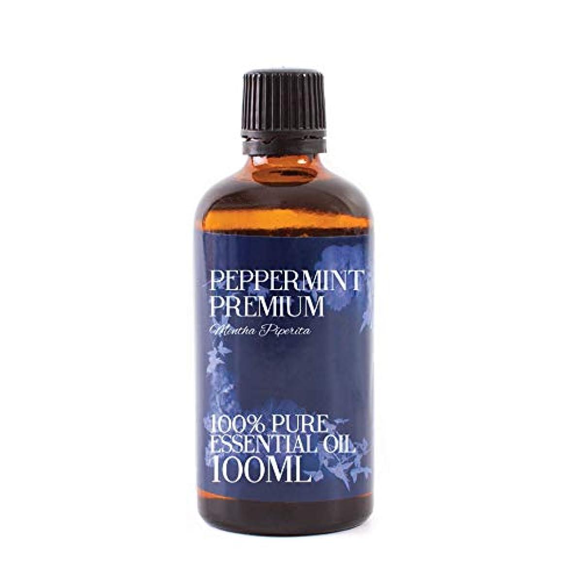 乱用ぼんやりしたドレインMystic Moments | Peppermint Premium Essential Oil - 100ml - 100% Pure