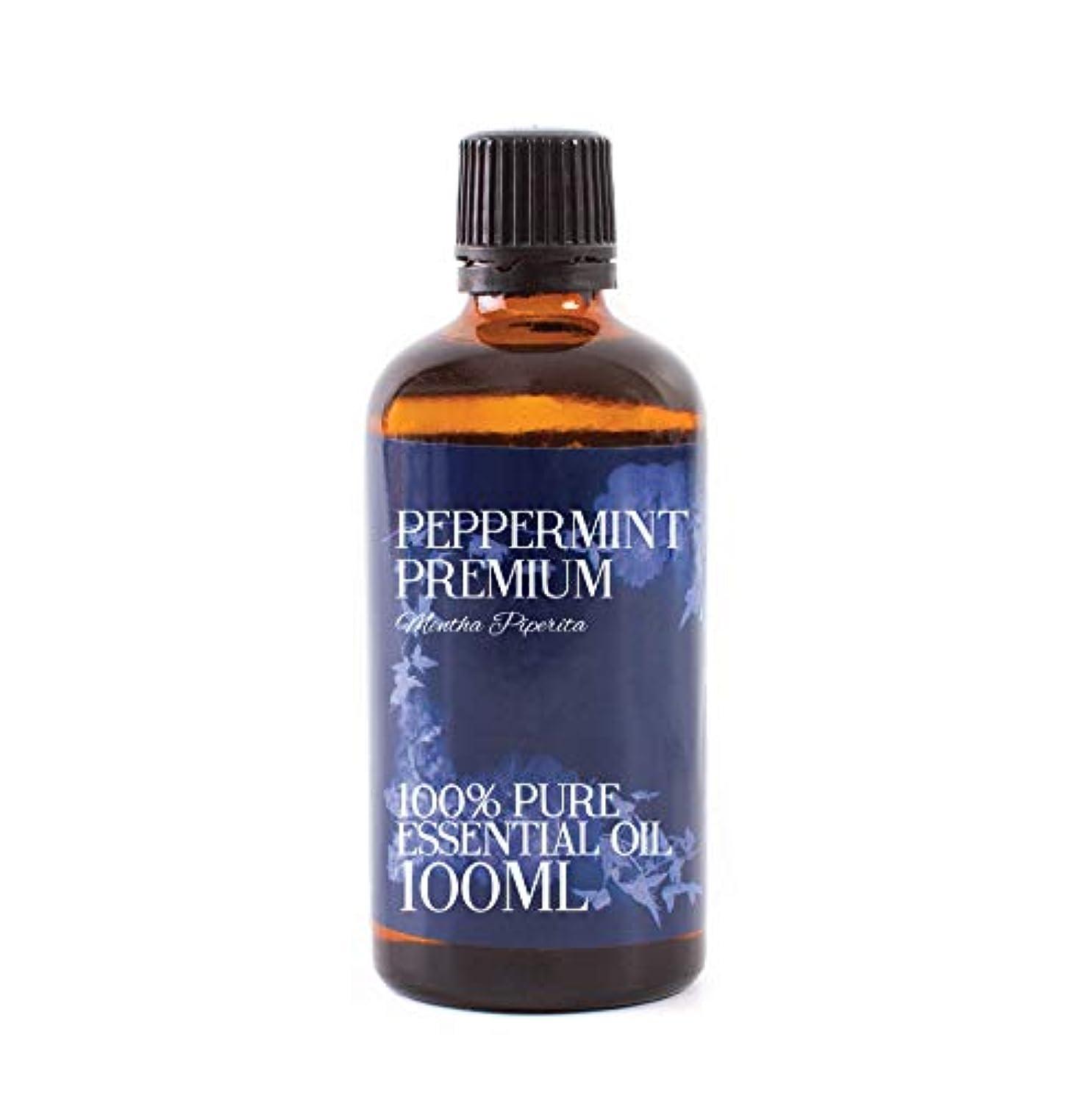 達成する強度バーストMystic Moments | Peppermint Premium Essential Oil - 100ml - 100% Pure