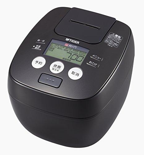 タイガー 炊飯器 5.5合 圧力 IH アーバンブラック 炊きたて 炊飯 ジャー JPB-H102-KU Tiger
