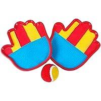 クラシックキッズトスとキャッチボールゲームセットキャッチボール玩具セット、ワンボール
