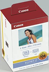 Canon カラーインク / ペーパーセット純正 KL-36iP 3PACK / KL?36IP3PACK