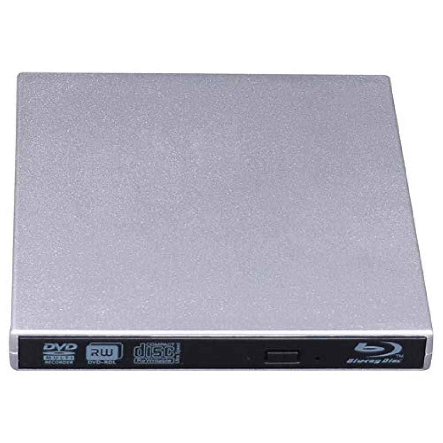 ダイジェスト小さな食事外部6XブルーレイCD / DVD RWブルーレイバーナー、DVDバーナーUSBノートPC用3.0 PortatilブルーレイプレーヤードライブDVDプレイヤーオプティカルドライブ,3