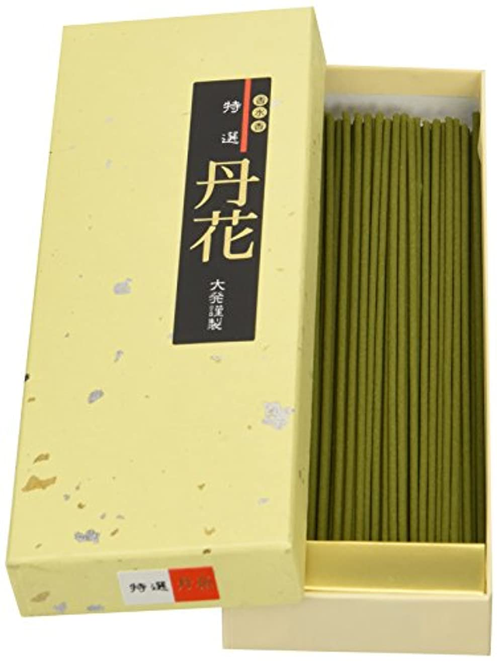 物理蒸発フィルタ大発のお香 特選丹花(ベージュ箱) TG-1