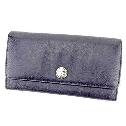 fb21b0d3a9eb ブルガリ BVLGARI 長財布 ファスナー付き 財布 レディース メンズ 34716 モネーテ 中古 T9502