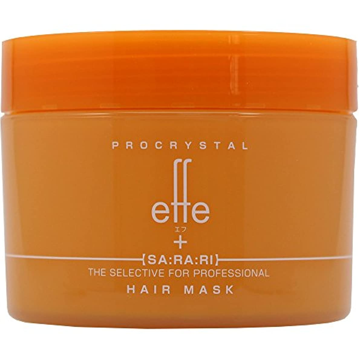 現れる薬副産物アペティート化粧品 プロクリスタル effe (エフ) ヘアマスク さらり200g