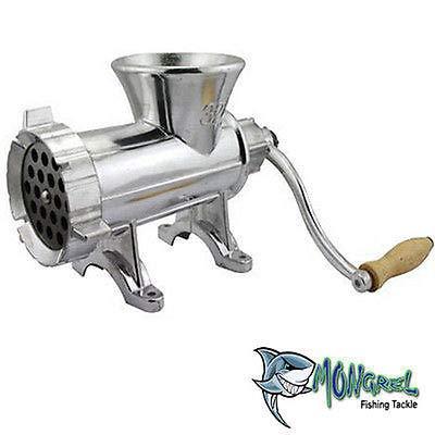 Mongrel Fishing Tackle New BERLEY Meat Mincer #32 Burley Mincer Mince Meat Maker Grinder