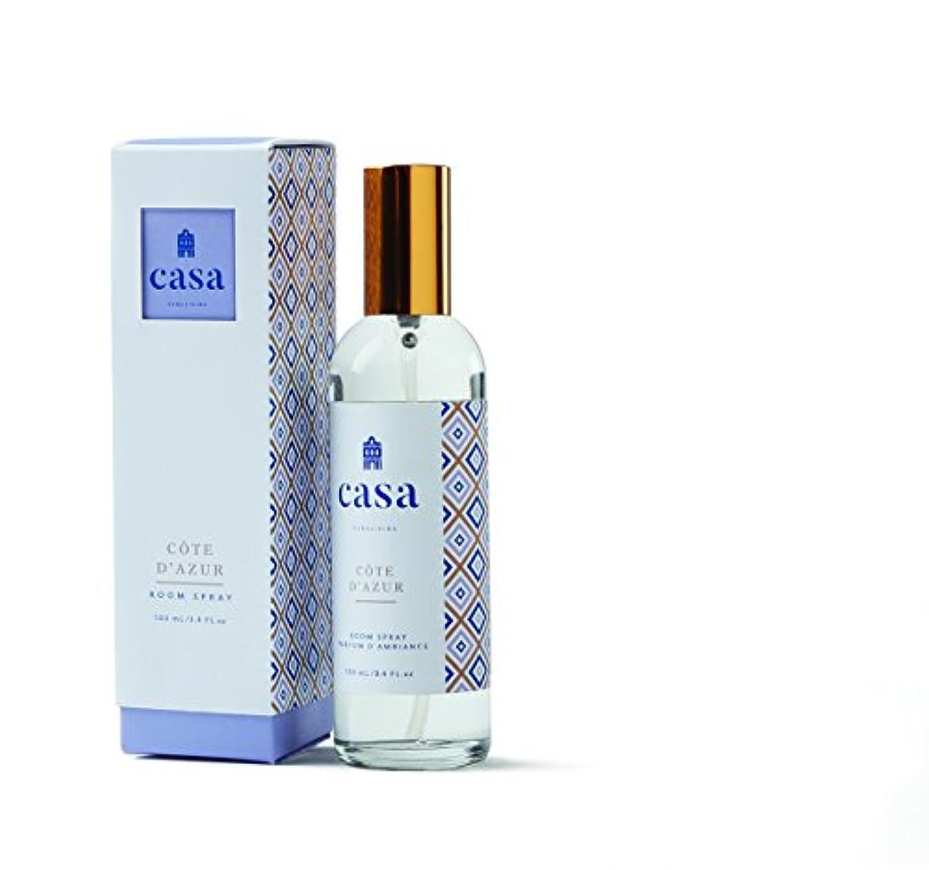 レベル確認する知恵CASA カーサ ルームスプレー ブルー メディタレアン ミスト Room Spray Mediterranean Mist ピュアリビング Pureliving