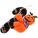 Baoblaze ハロウィーン ドア パーティー 装飾 オーナメント ルーム デコレーション ぬいぐるみ 全3種 - かぼちゃ