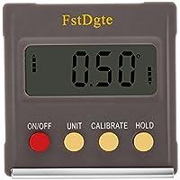 FstDgte デジタルレベル,デジタル角度計 傾斜計 水平器 LCD液晶画面 (ABS樹脂タイプ)