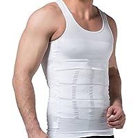 SWELLFLOW メンズ インナー 姿勢矯正 コンプレッションウェア 加圧インナー 着圧 タンクトップ 無地 ダイエット 吸汗速乾 アンダーウェア シャツ