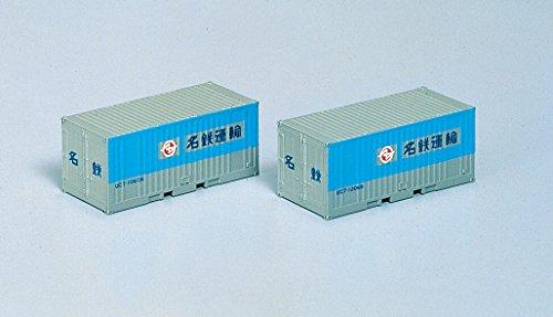 Nゲージ車両 UC-7 10tコンテナ (2個) 名鉄運輸 3107