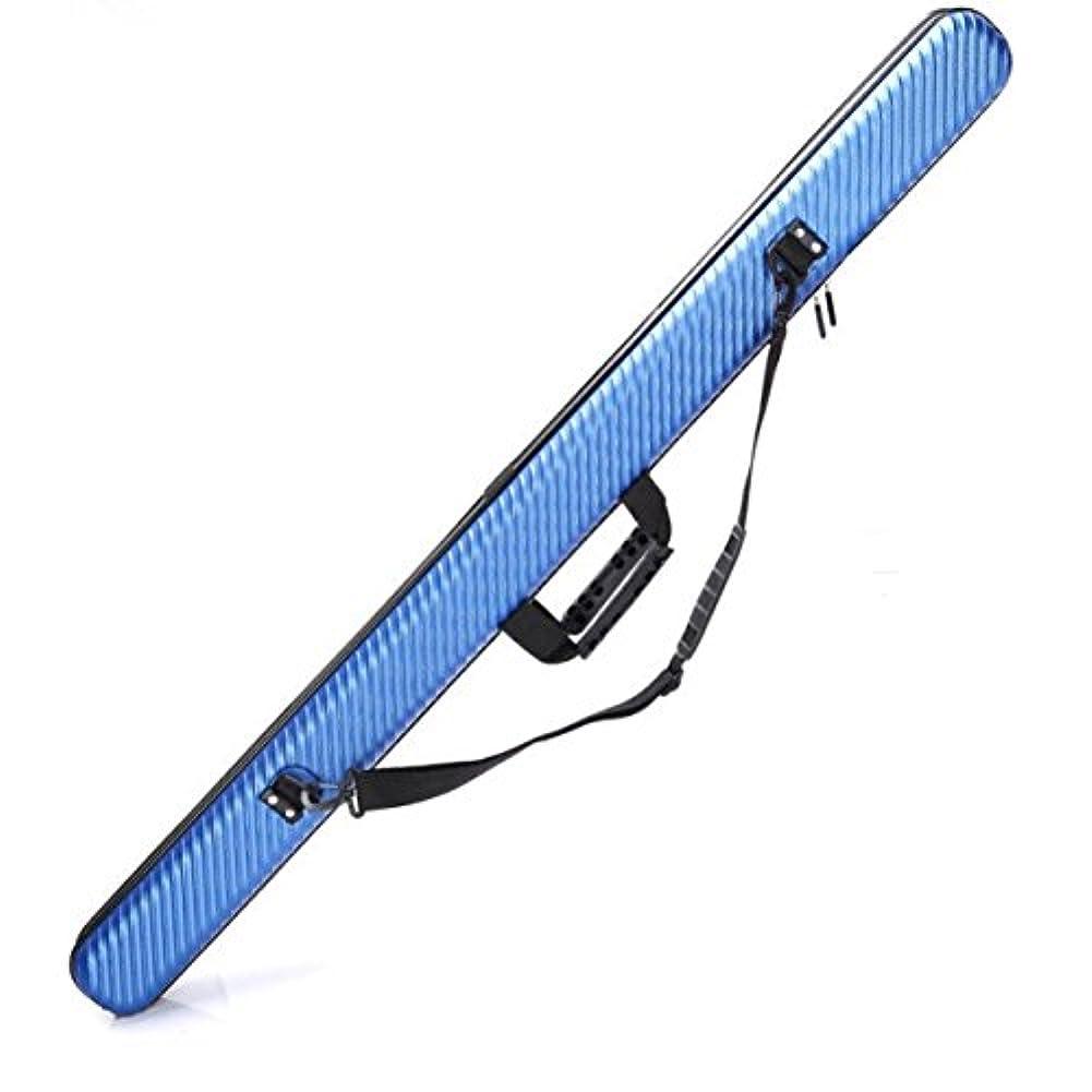 作り上げるピアース絡まる(AOFIT) ハードロッドケース 130cm 釣りロッド保護 持運び便利 釣りロッド入れ 防水性 耐用性 耐衝撃性 フィッシングバッグ ブルー