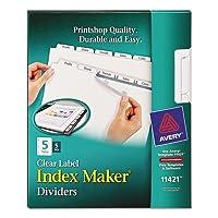 INDEX,COPIER,5TAB,5ST/PK