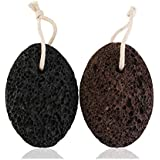 Pumice Stone Hard Skin Remover Foot Care Scrubber, Pack of 2