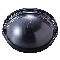 防犯カメラ ダミー 屋内 ドア用防犯ダミーカメラ 人が近づくと光が点滅 ドアに挟む 簡単取付け