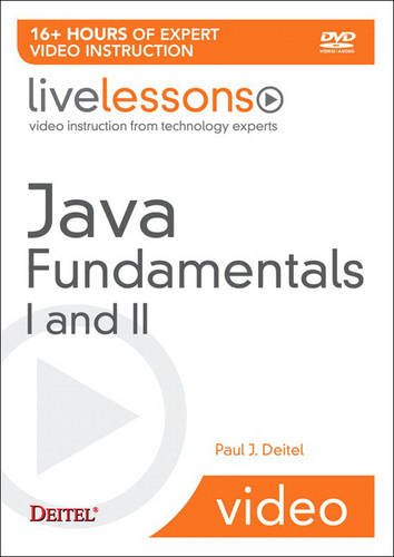 Download Java Fundamentals I and II LiveLesson (Video Training) (LiveLessons) 0137131135