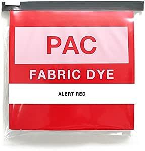 PAC FABRIC DYE 繊維用染料 col.01 アラートレッド