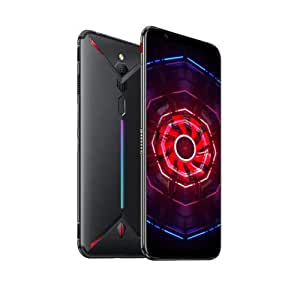 NUBIA Red Magic 3 (Black) 8G/128GB ゲーミングスマホ デュアルSIM対応 SIMフリー QualcommSnapdragon 855