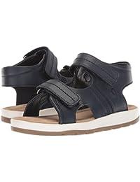 [Polo Ralph Lauren(ポロラルフローレン)] キッズサンダル?靴 Duncen (Toddler) Navy Full Grain Leather 9 Toddler (16cm) M