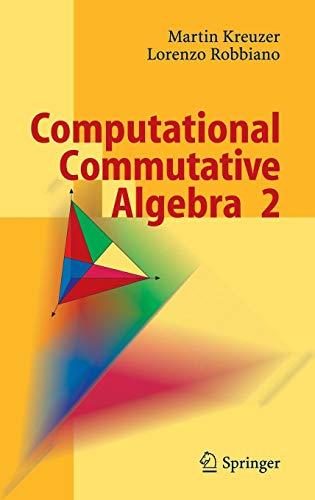 Download Computational Commutative Algebra 2 3540255273