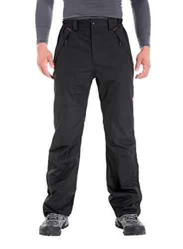 クロズイン 登山パンツ 裏起毛 アウトドア防水防風防寒 CP1201 男女兼用 Black XXL