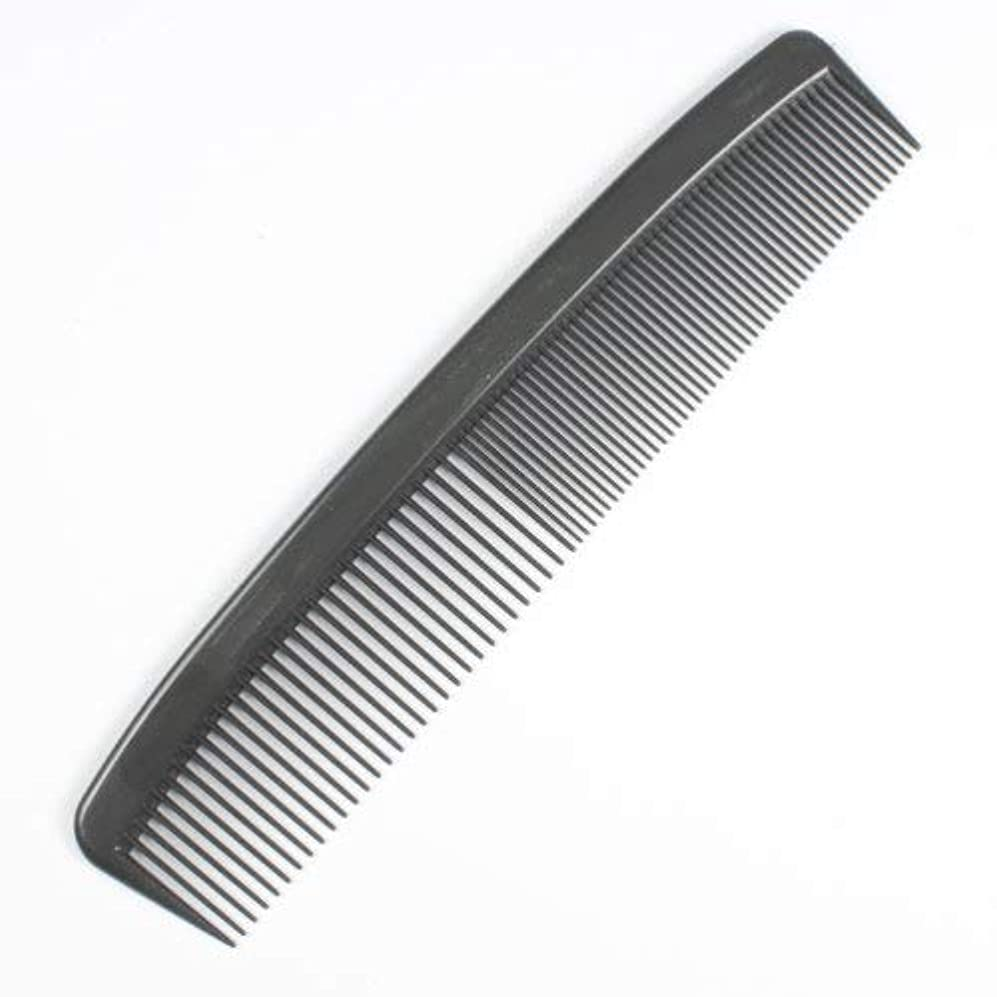 Dynarex Adult Combs, 5 Inches, Black, 240 Count [並行輸入品]