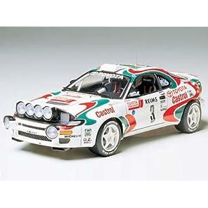 タミヤ 1/24 スポーツカーシリーズ No.125 カストロール セリカ 1993 モンテカルロラリー優勝車 プラモデル 24125