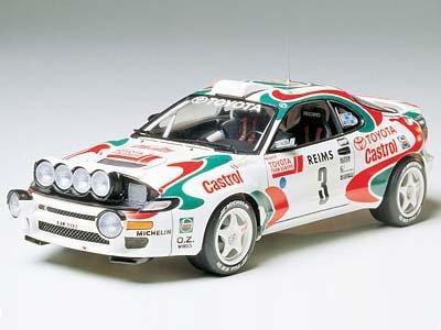 1/24 スポーツカー No.125 1/24 カストロール セリカ ('93 モンテカルロラリー優勝車) 24125