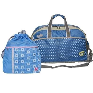 CHOOP (シュープ) ボストンバッグ・ナップサックセット[2604-2155] (ブルー×ブルー)