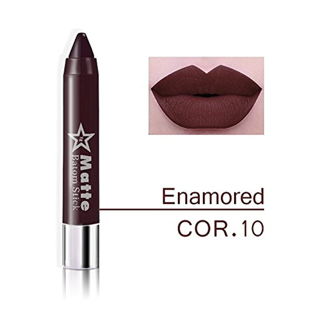 音声学オートコーンウォールMiss Rose Brand lips Matte Moisturizing Lipstick Makeup Lipsticks Waterproof matte Lip gloss Mate Lipsticks Make up