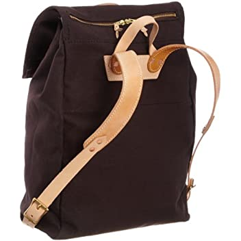 Canoe Back Pack 7278: Brown Canvas