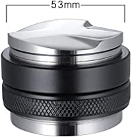 53mm Coffee Distributor & Tamper, MATOW Dual Head Coffee Leveler Fits for 54mm Breville Portafilter, Adjustable Depth-...