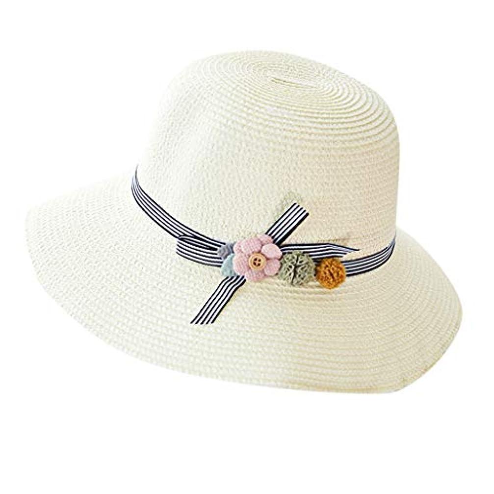 貸す攻撃イノセンス漁師帽 夏 帽子 レディース UVカット 帽子 ハット レディース 紫外線対策 日焼け防止 つば広 日焼け 旅行用 日よけ 夏季 折りたたみ 森ガール ビーチ 海辺 帽子 ハット レディース 花 ROSE ROMAN