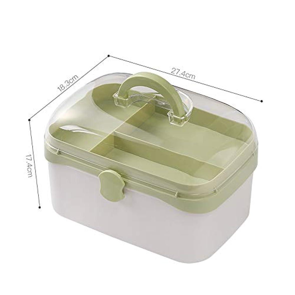 熟読ペニータオルNYDZDM 薬箱収納ボックス、家庭用応急処置キット、医療箱ピルオーガナイザー (Size : M)