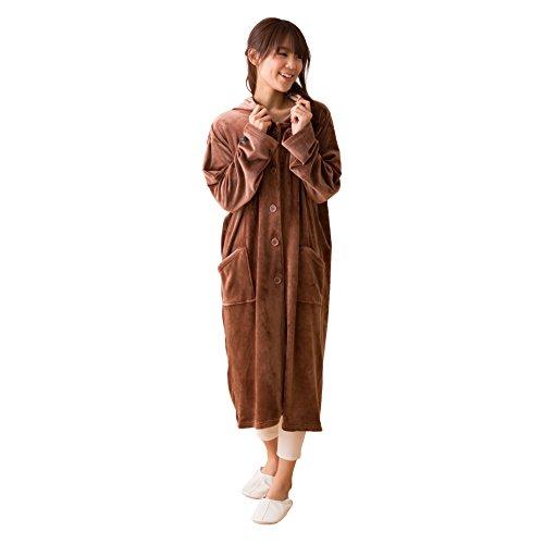 モフア(mofua) うっとりなめらかパフ 着る毛布 フード...
