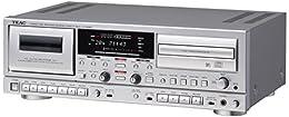 TEAC CDレコーダー/カセットデッキ シルバー AD-RW950-S