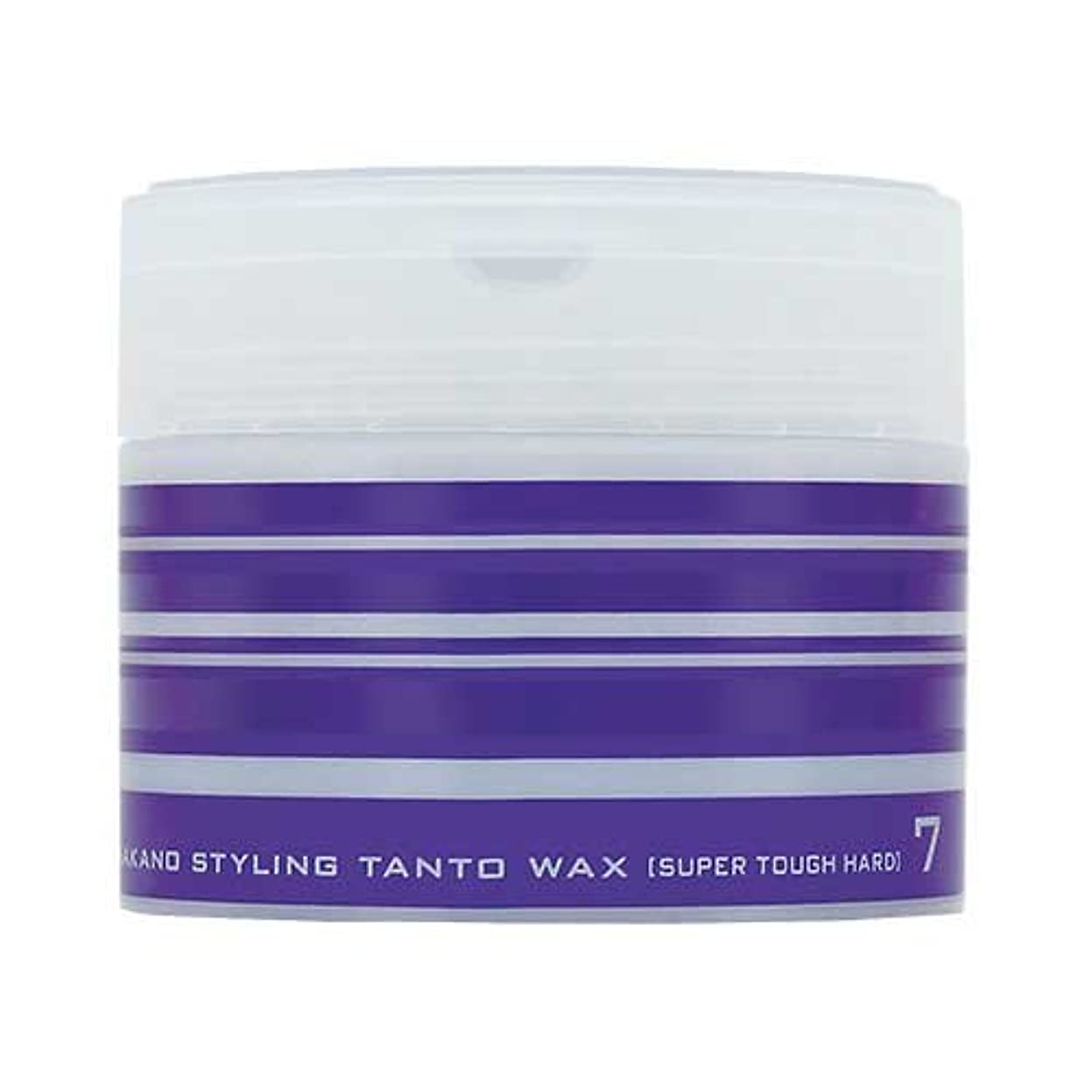 つぶやき規範茎ナカノ スタイリング タントN ワックス 7 スーパータフハード 90g 中野製薬 NAKANO