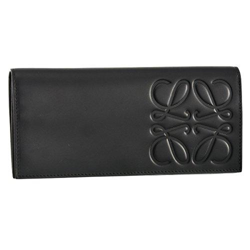 LOEWE(ロエベ) 財布 メンズ BRAND 2つ折り長財布 ブラック 10654978-0008-1100 [並行輸入品]